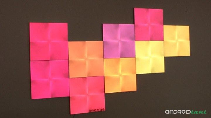 Nanoleaf Tuval, akıllı aydınlatma ve tasarım | yorumu 8