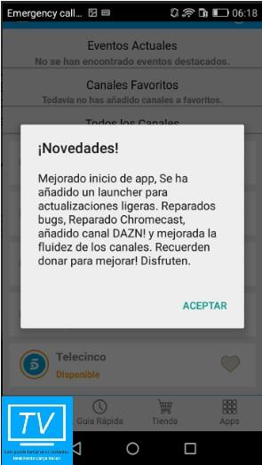TV İspanya Android