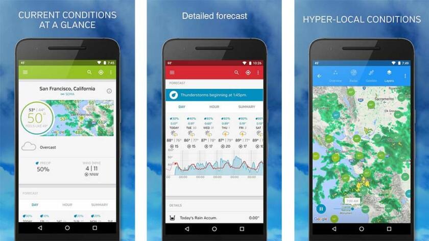 Hava Yeraltı android için en iyi saat widget uygulamalarından biridir