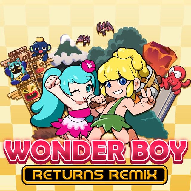 Wonder Boy Remix döndürür