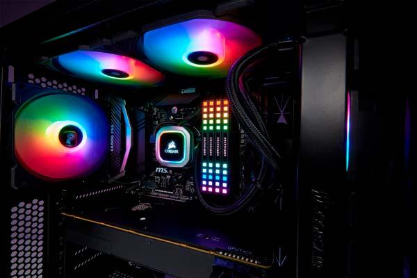 CORSAIR iCUE 220T RGB Hava akımı, akıllı aydınlatma ve mükemmel havalandırma ile yeni Kule 2