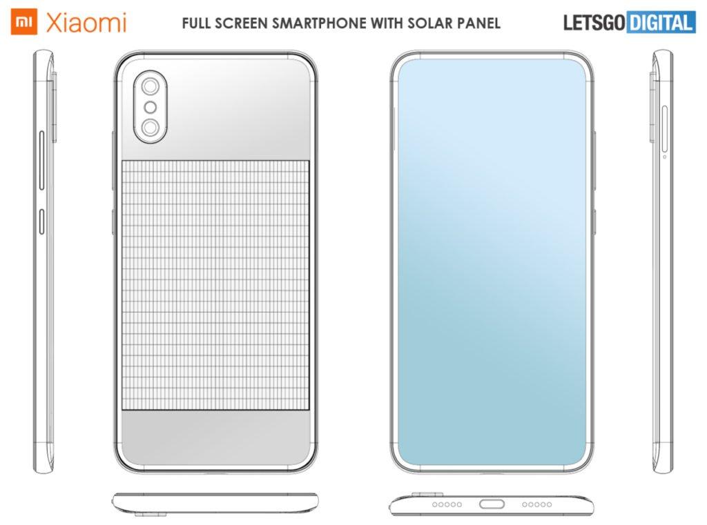 Xiaomi, güneş enerjisi ile şarj edilmiş bir akıllı telefon üzerinde çalışıyor olacaktı 1