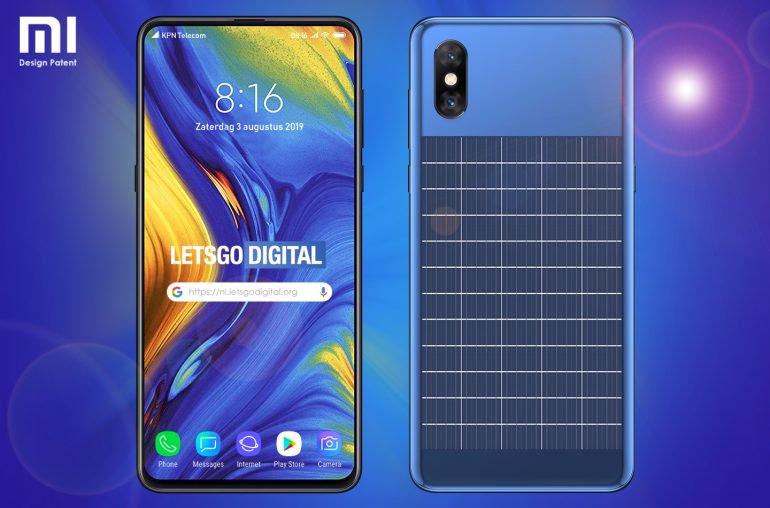 Xiaomi, güneş enerjisi ile şarj edilmiş bir akıllı telefon üzerinde çalışıyor olacaktı 2
