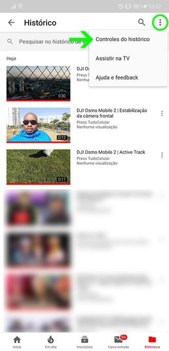 Öğretiler: Görüşlerin ve aramaların tarihçesinin duraklatılması YouTube 4