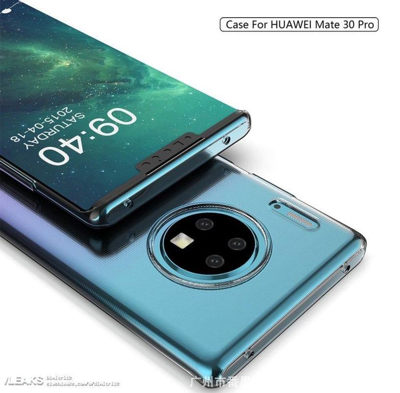 Şimdiye kadarki en iyi görüntülerde Huawei Mate 30 ve Mate 30 Pro: yuvarlak kameralar ve gizemli düğme 2