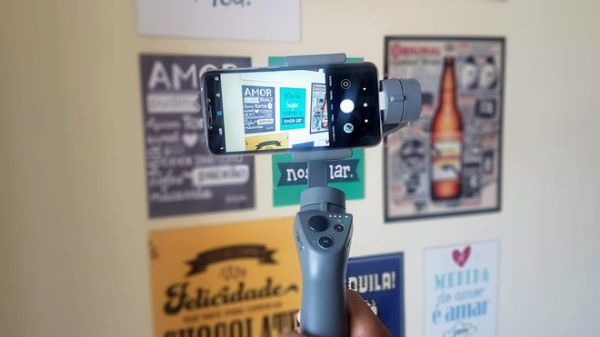 DJI Osmo Mobile 2 çok sezgisel değil, ancak 'sinematik görüntüler' oluşturmanıza izin veriyor | Analiz Cihazı / Bul Beni 5