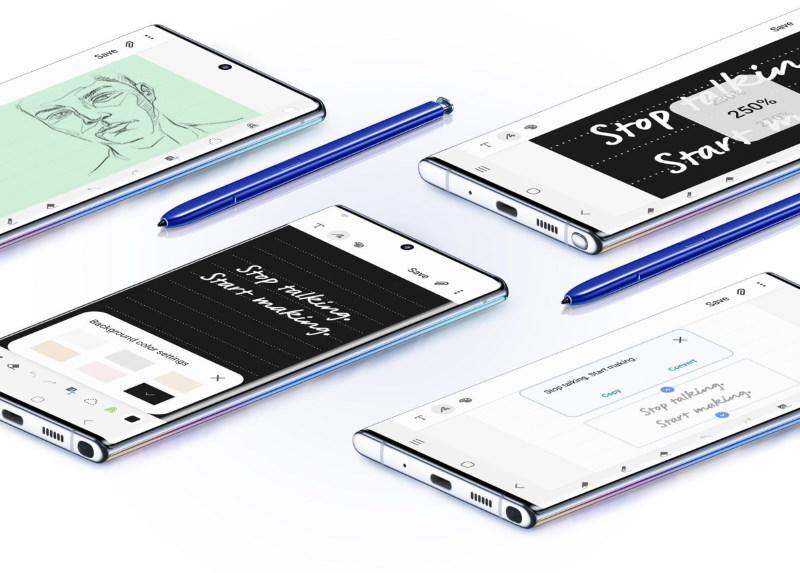Samsung galaxy 10 değil