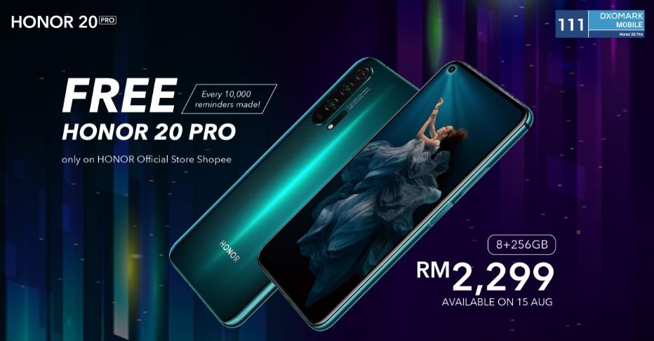 ONUR 20 Pro, 15 Ağustos'ta Malezya'da RM 2299 İçin Kullanılabilir 1