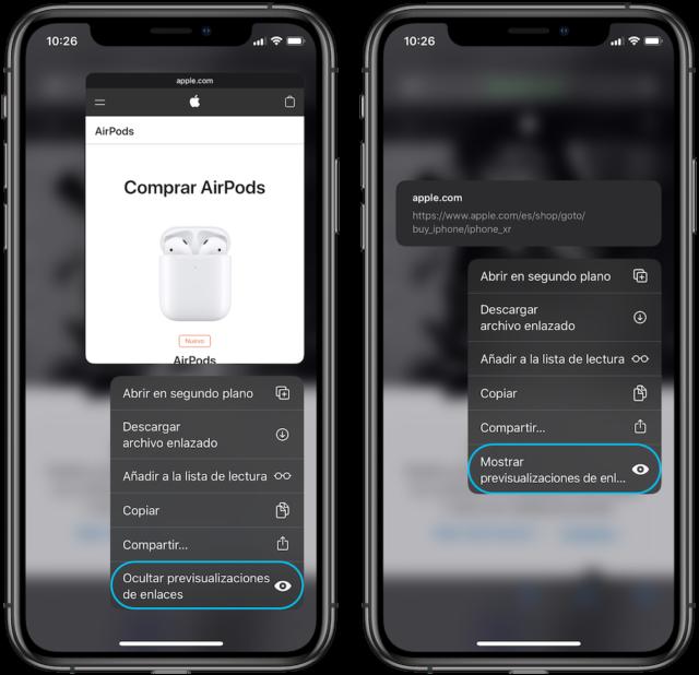 iOS 13 bağlantıları