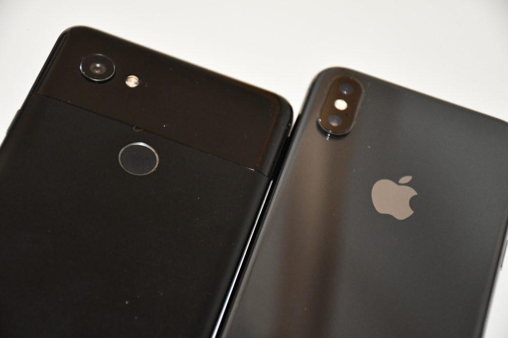 Bir Android kullanıcısı tarafından bir iPhone X kullanarak bir ay 5