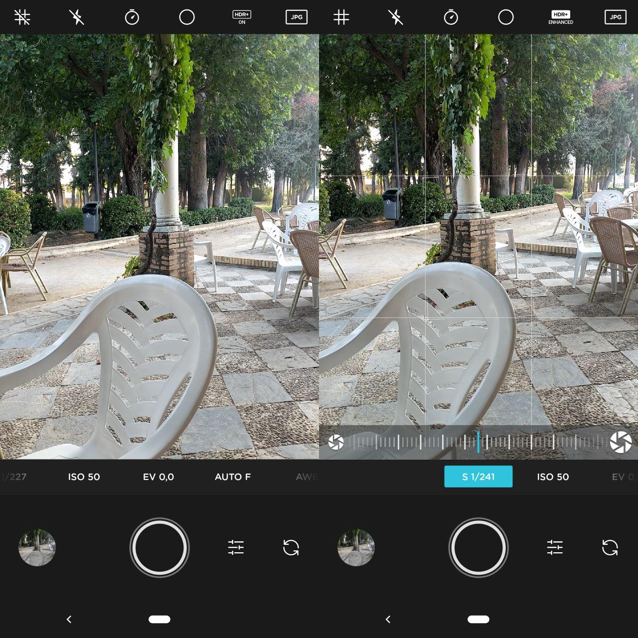 Google kamera nihayet manuel kontrolleri alabilirdi 2