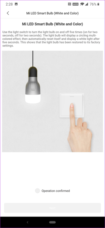 Xiaomi Mi Smart Bulb'u Telefon 12'ye Bağlayın