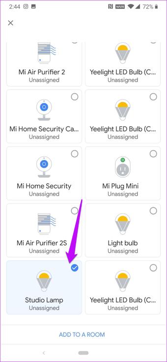 Telefon 5 Xiaomi Mi Akıllı Ampul bağlayın