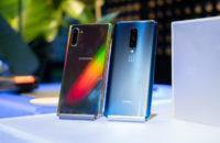 Samsung Galaxy Note  10 Plus vs OnePlus 7 Pro masaya geri döndü 1