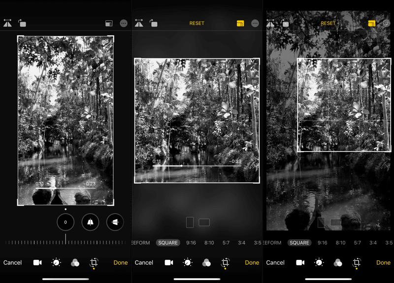 iOS 13: iPhone ve iPad'de Yeni Video Düzenleyici Nasıl Kullanılır? 4