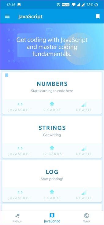 Kodlamayı Öğrenmek İçin Android Uygulamaları 17