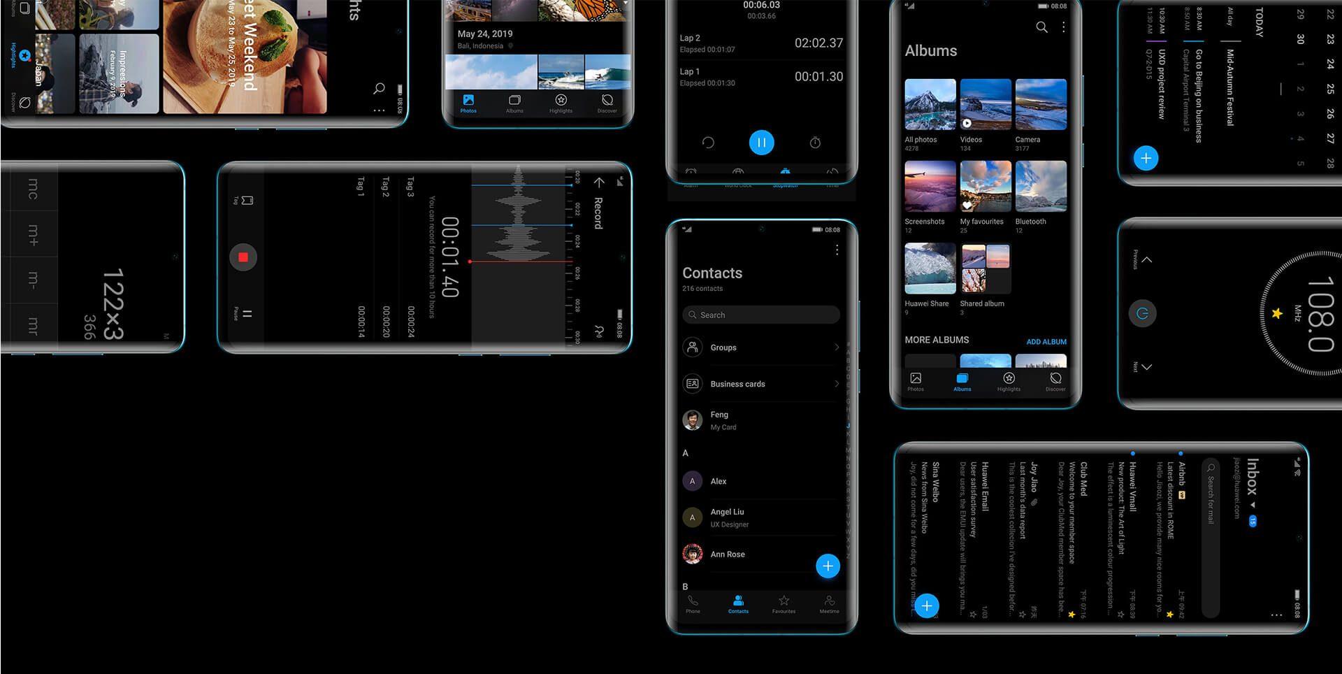 Huawei telefonları için EMUI10 güncellemesiyle gelecek olan haberlerin listesi 3