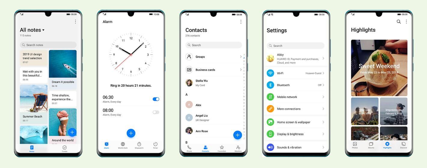 Huawei telefonları için EMUI10 güncellemesiyle gelecek olan haberlerin listesi 4