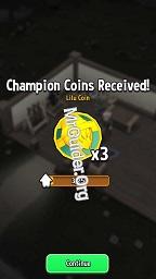 Dükkan Titans Şampiyonu Paraları