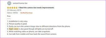 Hindistan'da en iyi Wi Fi Ev Güvenlik Kameraları Sricam 2