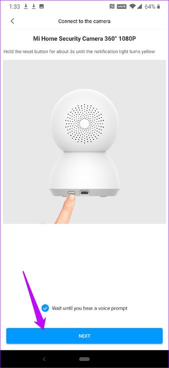 2 Mi Güvenlik Kamerasını 360 Telefona Bağlama ve Kurma 8