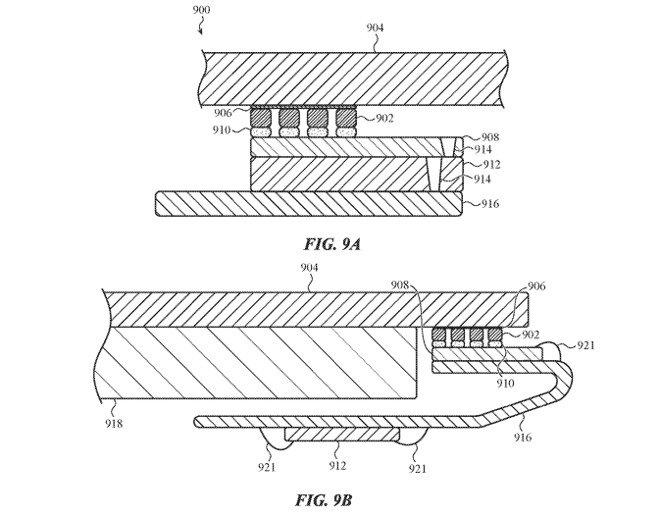 patent Apple Akustik Dokunma Kimliği