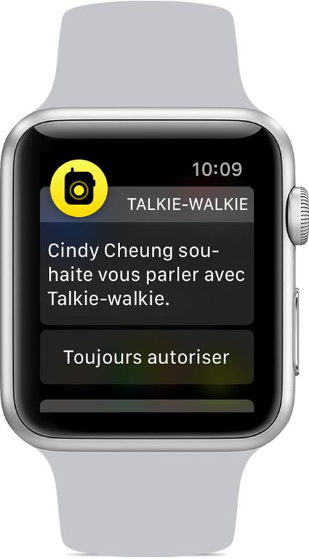 elma izle talkie walkie davetiyesi ami Yorum utiliser le Talkie walkie sur son Apple Watch
