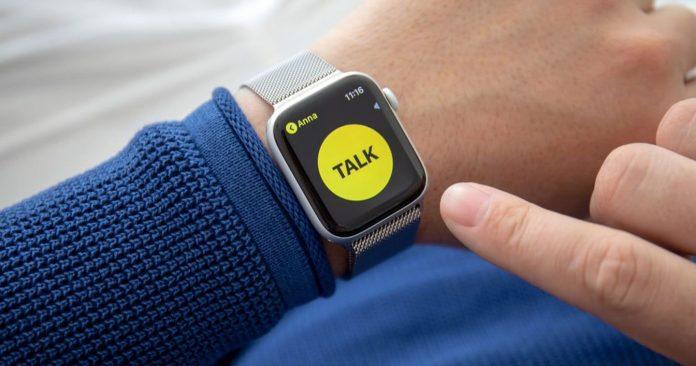 Yorum yapan le Talkie walkie sur son Apple Watch