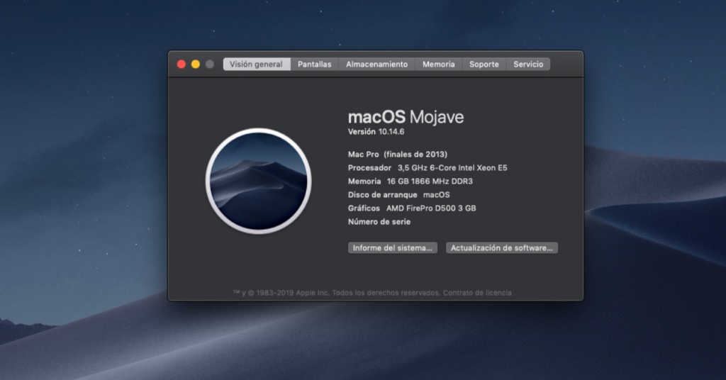 macOS Mojave 64 bit uygulamaları