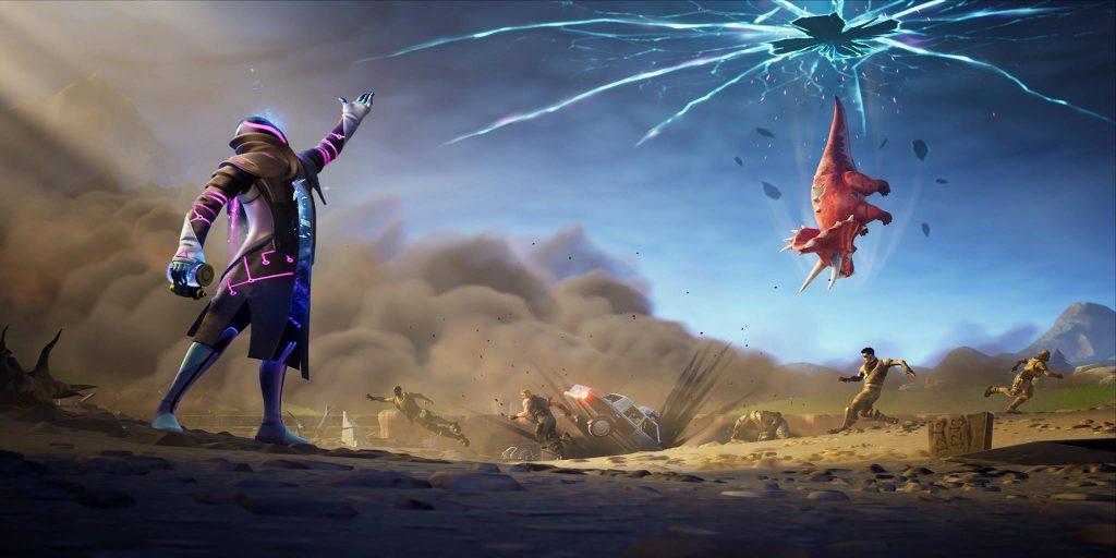 Yeni 'Junk Rift' öğesi yakında Fortnite Savaş Royale 3