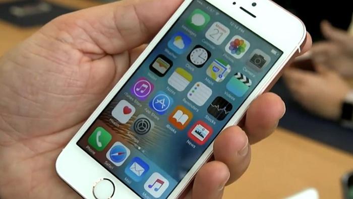 IPhone SE ekranı