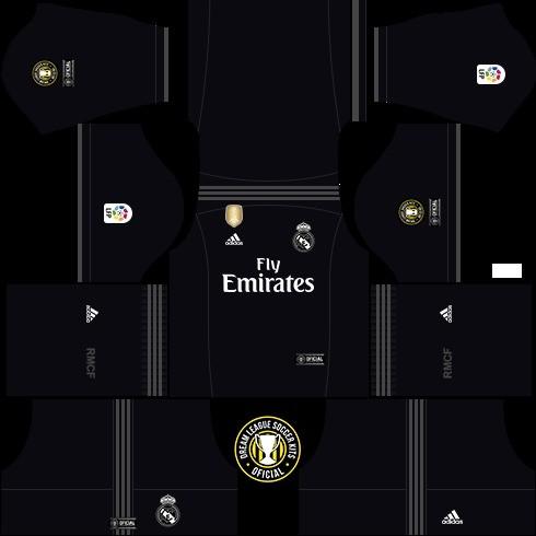 Dream League Soccer Real Madrid ziyaretçi takımı
