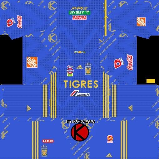 Tigers UANL ziyaretçi Dream League Soccer