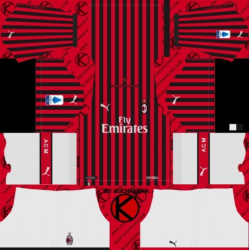Milan takımı Dream League Soccer
