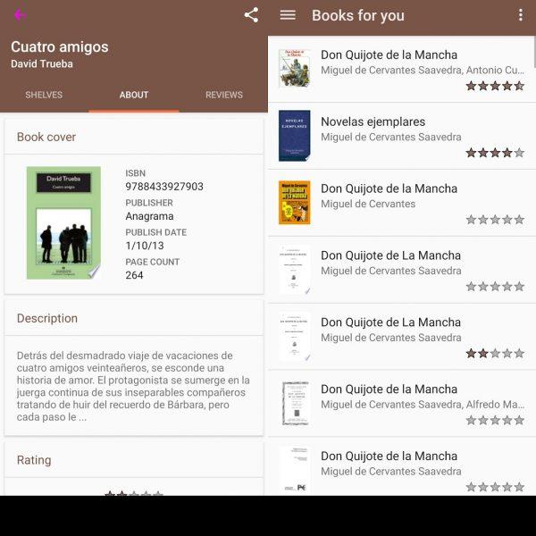 Aplicaciones para organizar libros - Kütüphanem