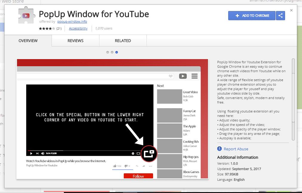 "Açılır Pencereyi Kullanma YouTube""width ="" 1012 ""height ="" 647 ""srcset ="" https://techviral.net/wp-content/uploads/2016/10/10/Popup-window-1.png 1012w, https://techviral.net/wp içerik / yükleme / 2016/10 / Açılır Pencere-1-300x192.png 300w, https://techviral.net/wp-content/uploads/2016/10/Popup-window-1-768x491.png 768w ""veri -lazy-size = ""(maksimum genişlik: 1012px) 100vw, 1012px"
