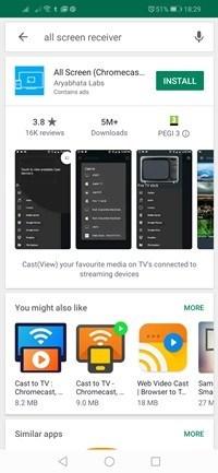 ASR Google Play'de