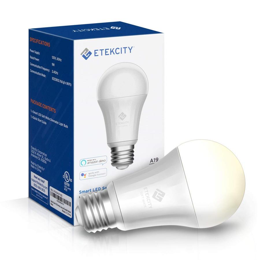 Etekcity Akıllı Fiş ve Akıllı LED Ampul - Her ikisiyle de uyumlu Amazon Alexa ve Google Ana Sayfa 2