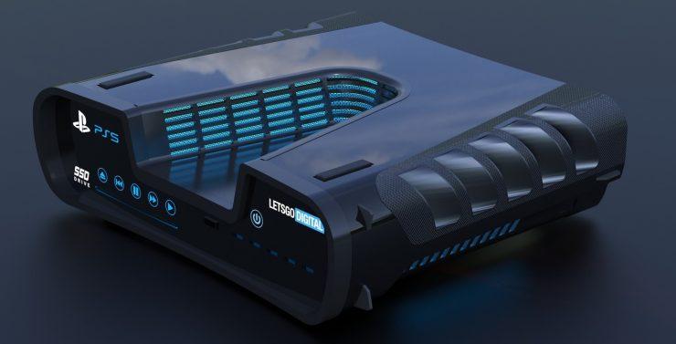 PlayStation 5 konsol tasarımı