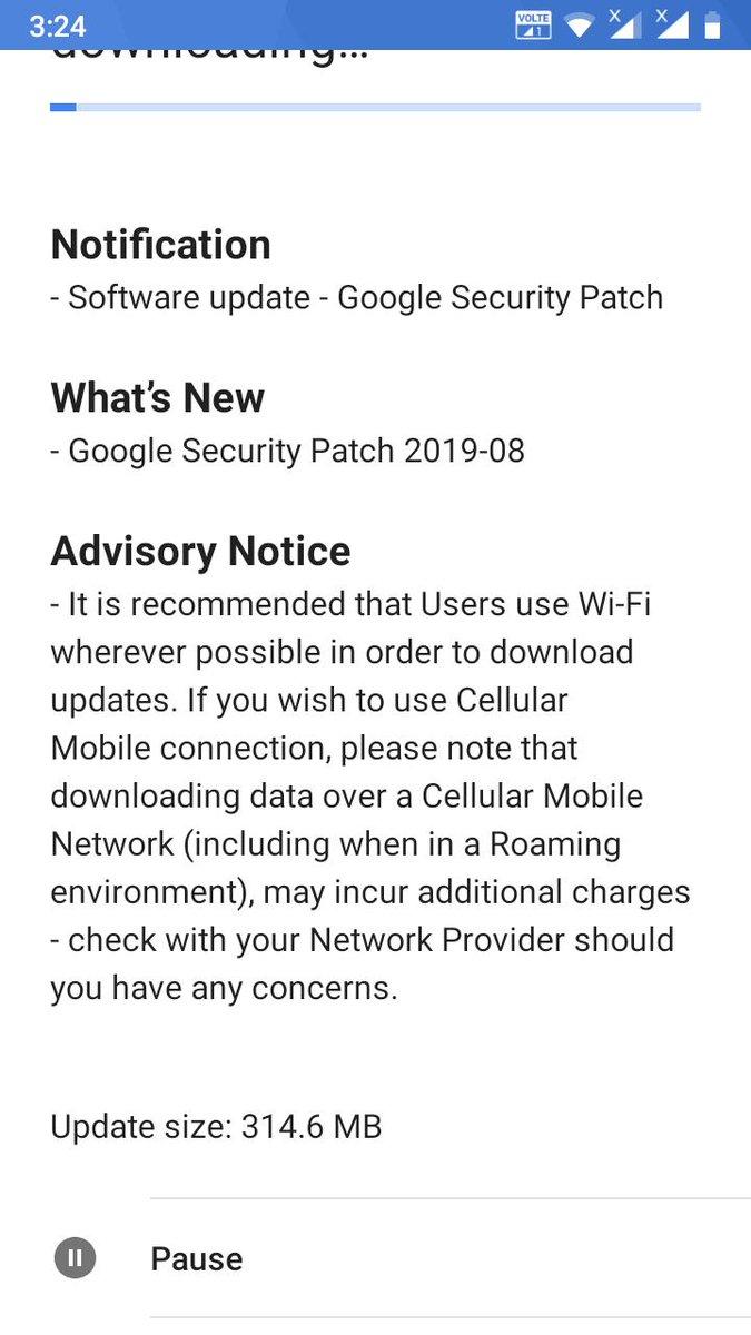 Nokia 5 güvenlik güncellemesi ağustos