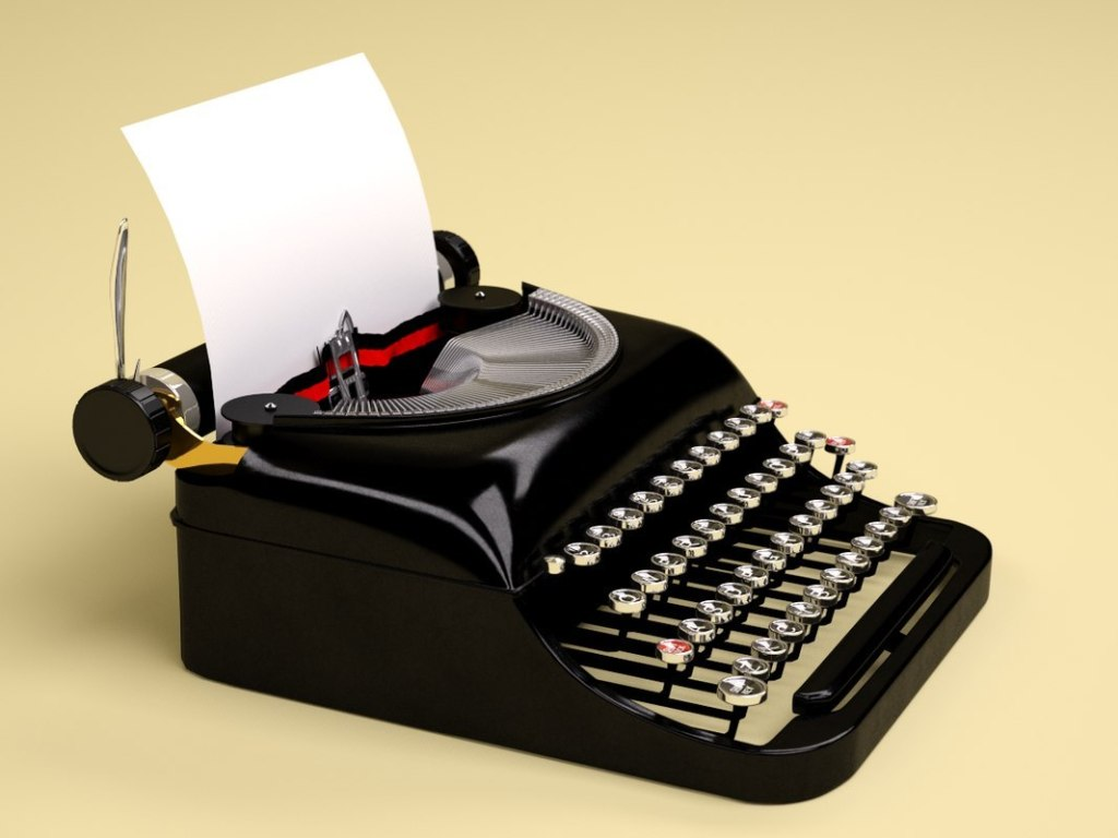 daktilo eski teknolojiler