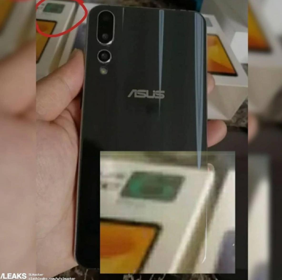 Asus ZenFone 6'nın filtrelenmiş fotoğrafları arka kapağını gösteriyor 3