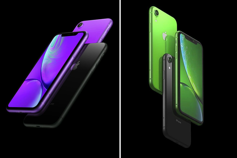 Senenin başlarında, Apple'nın yeni iPhone'u yeni lavanta ve yeşil paintjob'lar edindiği söylendi