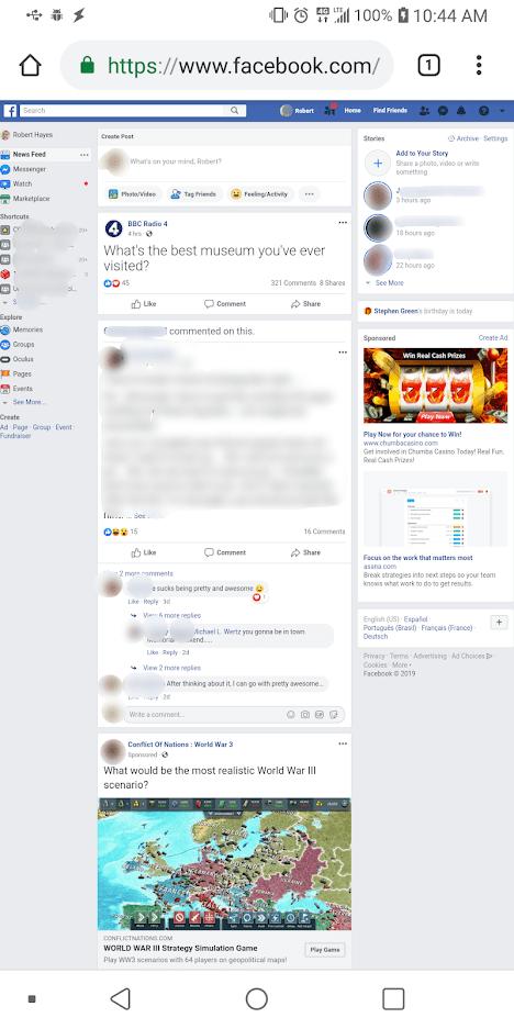 Dolu Nasıl Kullanılır? Facebook Telefonunuzdan Masaüstü İçin Site 3