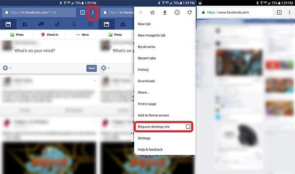 Dolu Nasıl Kullanılır? Facebook Telefonunuzdan Masaüstü İçin Site 5