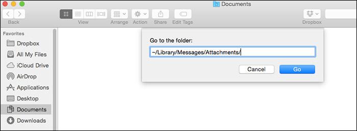 Mac OS X'te Mesaj Ekini Temizle
