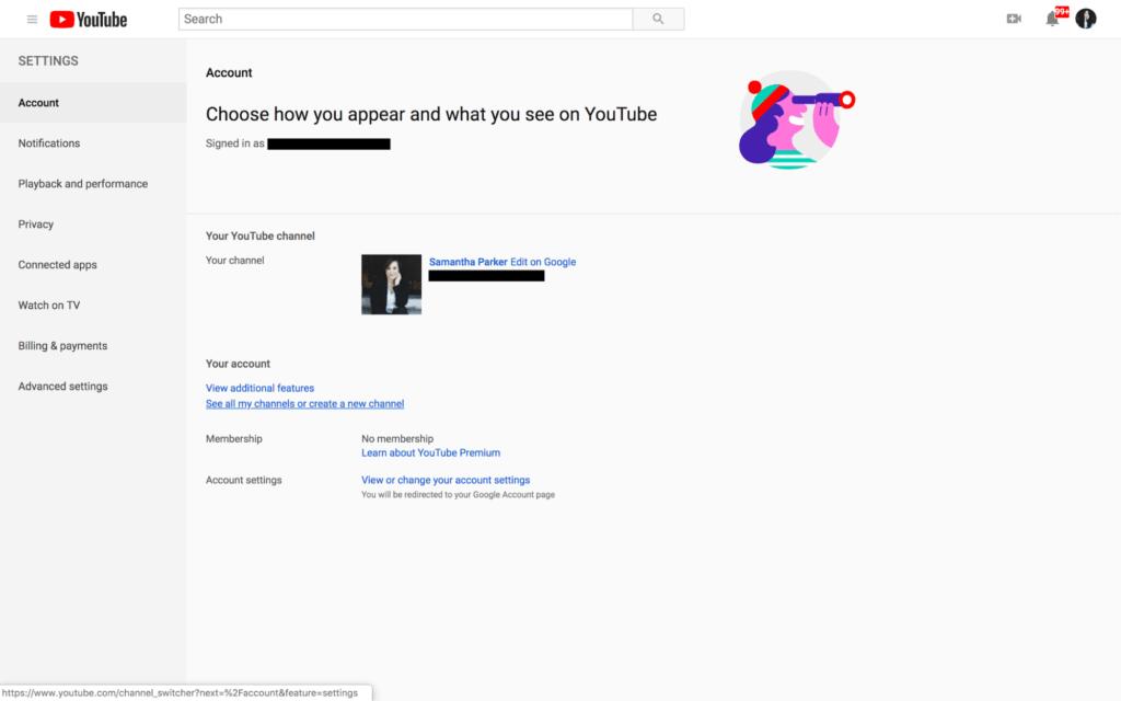Nasıl Oluşturulur YouTube 2019'da kanal 3