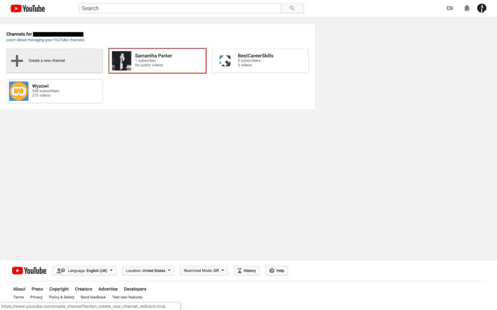 Nasıl Oluşturulur YouTube 2019'da kanal 4