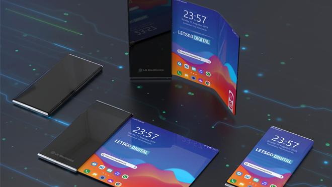 LG Roll-up Akıllı Telefon Ekranı