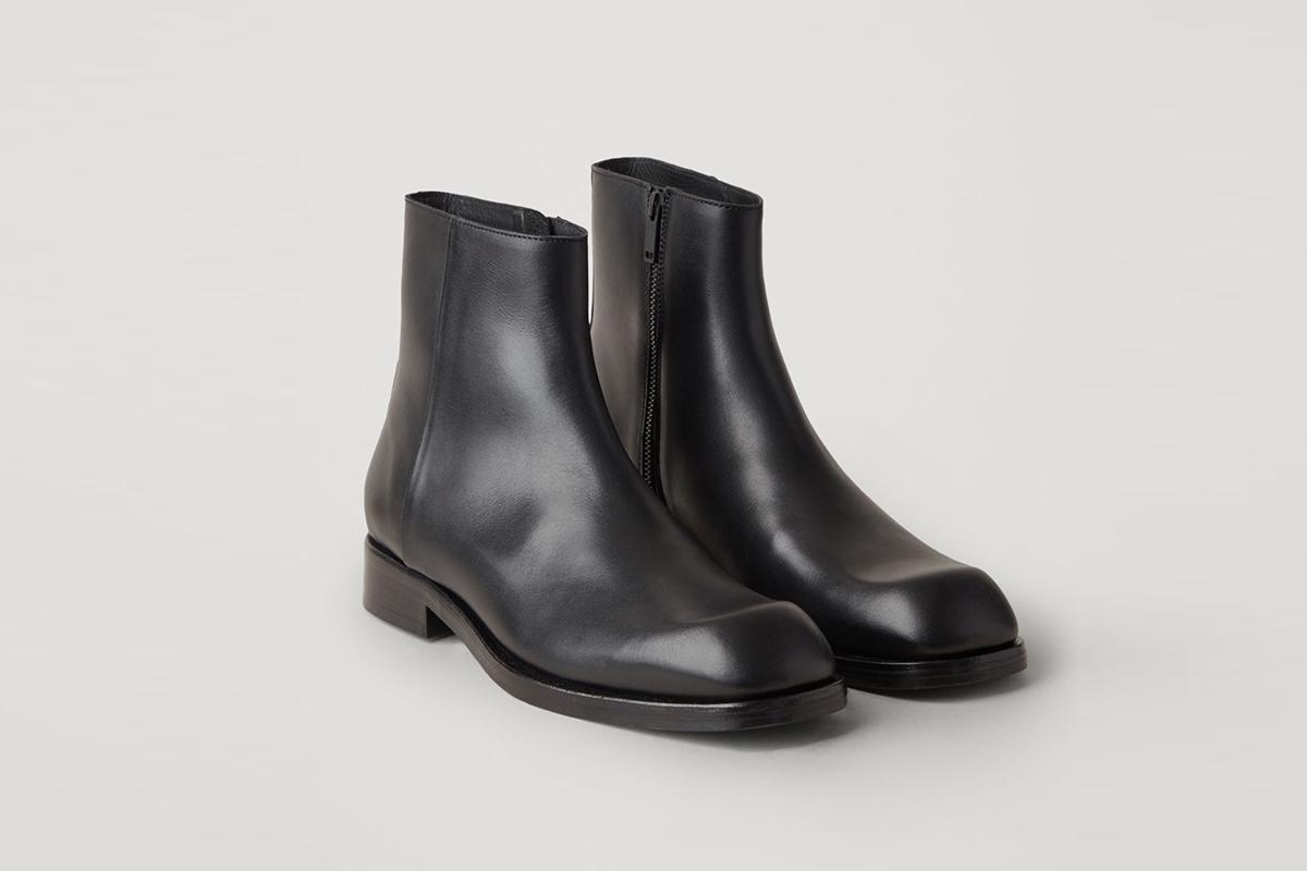 Fermuarlı Ayak Bileği Çizme